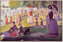 Seurat's Grande Jatte and Circus